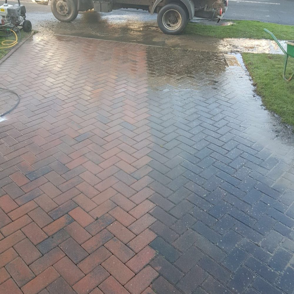 Block Paved Driveway Extension with Maintenance & Repair – Hurstpierpoint