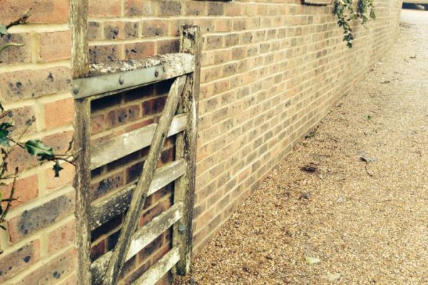 Garden Wall Construction- Cuckfield, West Sussex