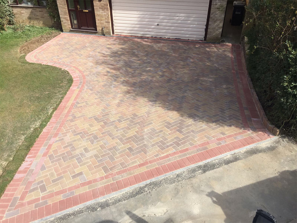 Haywards Heath Driveway Installation – Standard Block Paving
