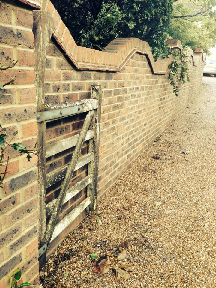 Garden Wall Construction- Cuckfield, West Sussex